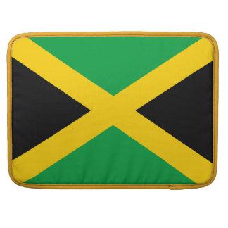 Jamaican Flag Sleeve For MacBooks