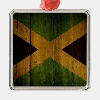 Jamaican flag. metal ornament