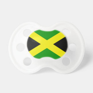 Jamaican Flag Pacifier