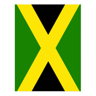 Jamaican Flag Postcard