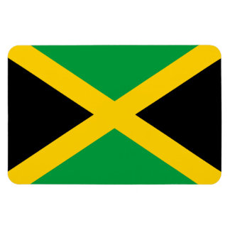 Jamaican Flag Rectangle Magnets
