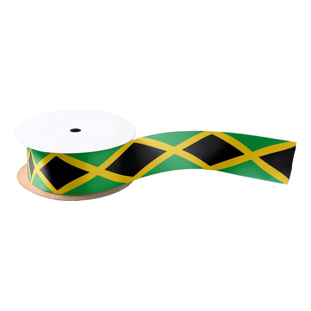 Jamaican flag ribbon
