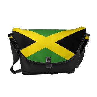 Jamaican Flag Rickshaw Messenger Bag