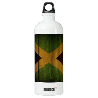 Jamaican flag. SIGG traveler 1.0L water bottle