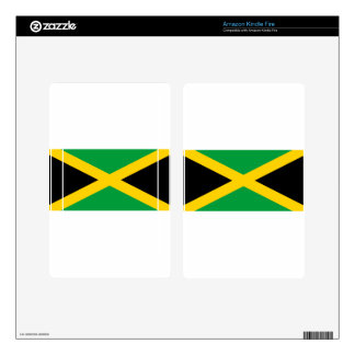 Jamaican Flag Skins For Kindle Fire