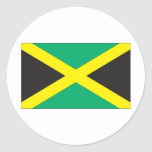 Jamaican Flag Stickers