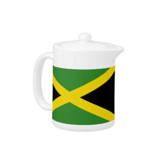 Jamaican Flag Teapot