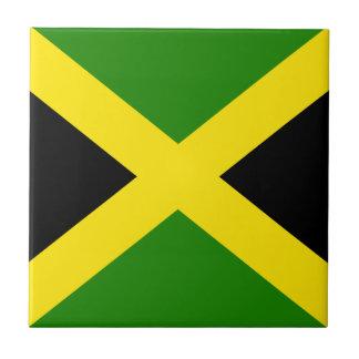 Jamaica Flag Ceramic Tiles | Zazzle