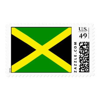 Jamaican Flag U.S. Postage Stamp