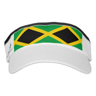 Jamaican flag visor