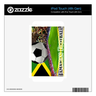 Jamaican Football Skins For iPod Touch 4G