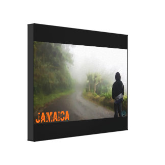 Jamaican Forrest Canvas Print