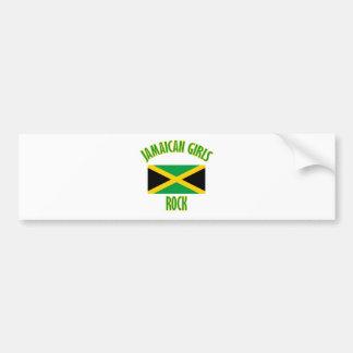 Jamaican girls DESIGNS Bumper Sticker