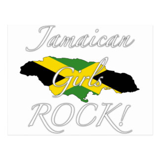Jamaican Girls Rock! Postcard