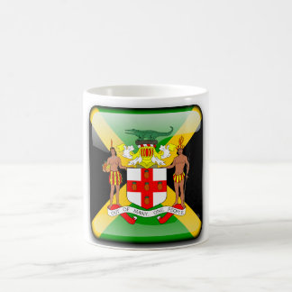 Jamaican glossy flag coffee mug