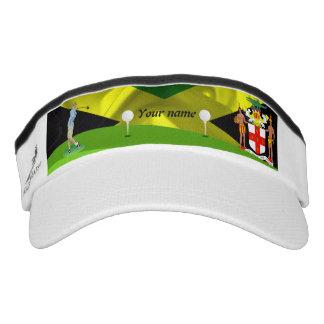 Jamaican golfer visor