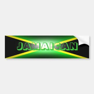 Jamaican Jamaica Bumper Sticker Car Bumper Sticker