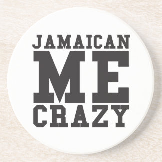 Jamaican Me Crazy Beverage Coaster