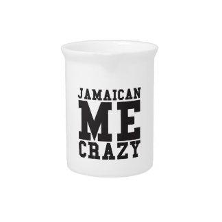 Jamaican Me Crazy Drink Pitchers