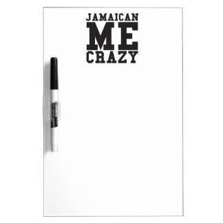 Jamaican Me Crazy Dry-Erase Board