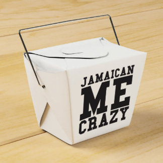 Jamaican Me Crazy Favor Box