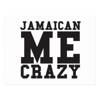 Jamaican Me Crazy Postcard