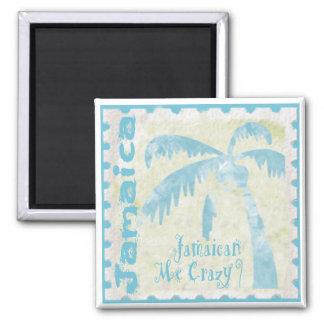 Jamaican Me Crazy Refrigerator Magnet