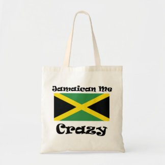 Jamaican Me Crazy Tote Bag