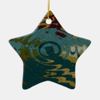 Jamaican  Memories Star Christmas Tree Ornament