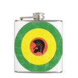Jamaican Mod Target Flask
