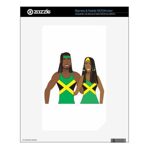 Jamaican People.ai Skin For The NOOK Color