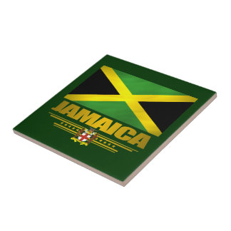 Jamaican Pride Ceramic Tile/Coaster Ceramic Tile