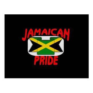 Jamaican pride postcard
