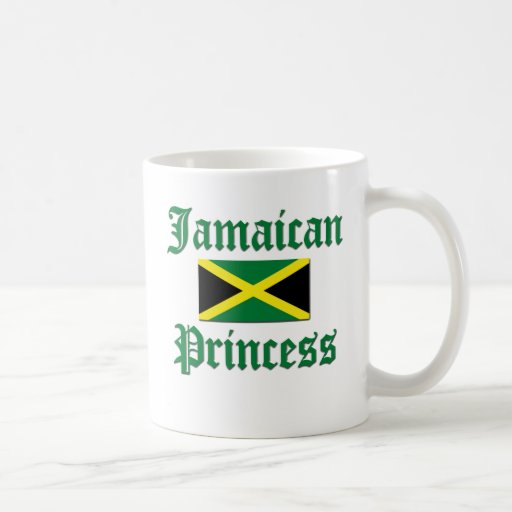 Jamaican Princess Classic White Coffee Mug