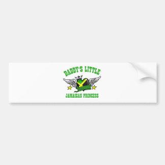jamaican Princess designs Bumper Sticker