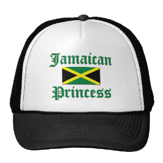 Jamaican Princess Trucker Hats