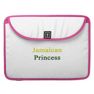 Jamaican Princess MacBook Pro Sleeves