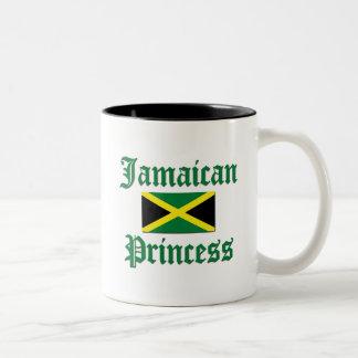 Jamaican Princess Two-Tone Coffee Mug