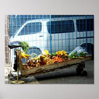 Jamaican Pushcart Poster