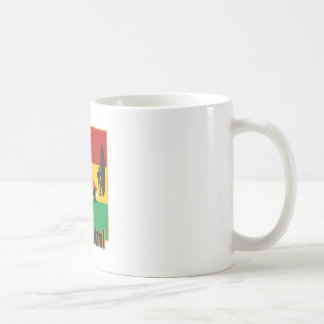 Jamaican Rasta Surfpatrol Buggy Coffee Mug