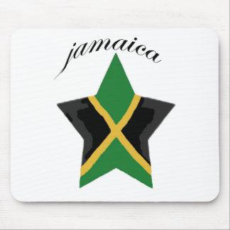Jamaican Reggae Olympic Rasta Mouse Pad