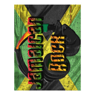 Jamaican Rock Flag Range Letterhead