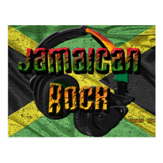 Jamaican Rock Flag Range Postcard