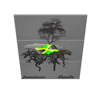 jamaican Roots Canvas Print