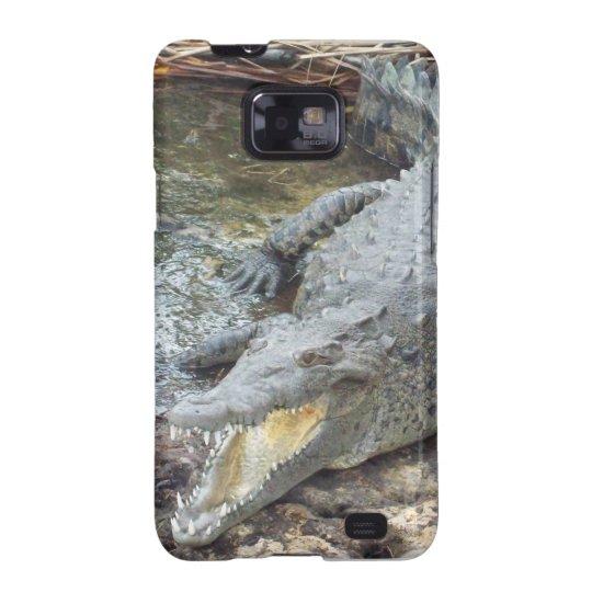 Jamaican Salt Water Crocodile Samsung Galaxy S2 Cover