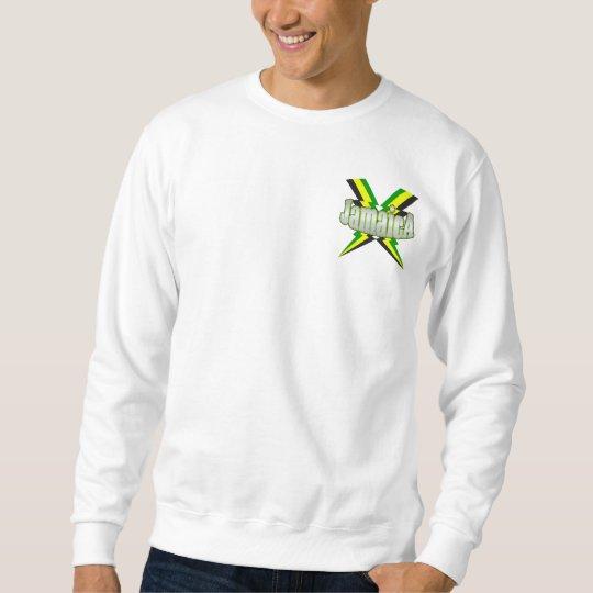 Jamaican Silver Lightening Bolts Logo Sweatshirt