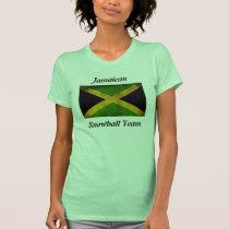 Jamaican Snowball Team Ladies Tank             ...