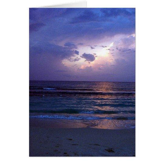 Jamaican Sunset Card