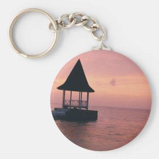 Jamaican Sunset Keychain