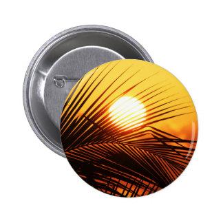 JAMAICAN SUNSET TROPICAL PHOTOGRAPHY NATURE WALLPA PINBACK BUTTON